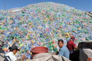 Recycled Plastic Products cn be made from plastic bottles