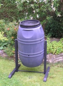 Compost bin / Compost Tumbler 'the dark destroyer'